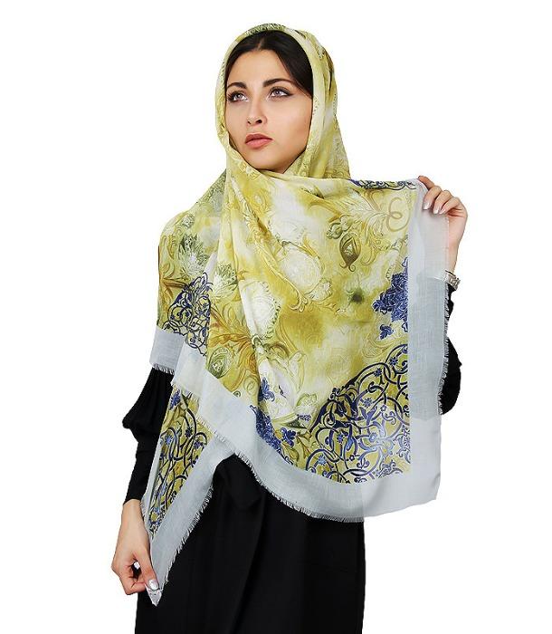 روسری طرح دار زنانه-تصویر اصلی