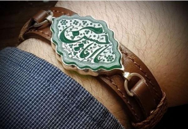 دستبند عقیق تراش شمسه-تصویر اصلی