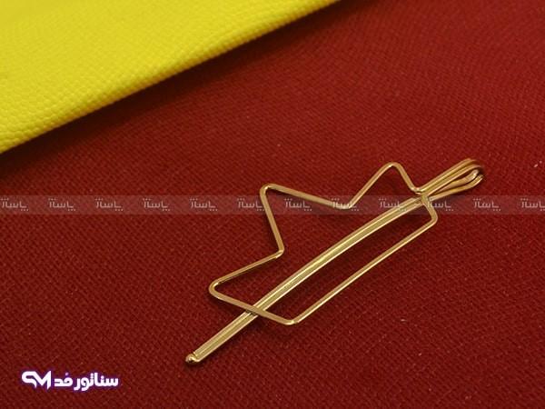 گیره مو فلزی مینیمال سناتورمد MA6001-تصویر اصلی