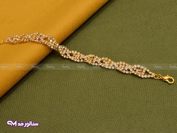 دستبند زنانه نگین دار سناتورمد DZ1044-تصویر اصلی