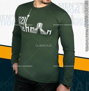تیشرت مردانه طرح تهران سبز-تصویر 2
