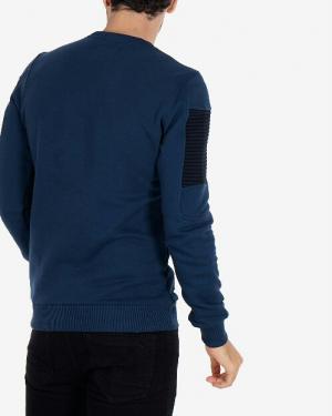 تیشرت آستین بلند دورس با گلدوزی روی سینه-تصویر 2