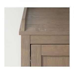 ️کمد چوبی لباس ایکیا مدل SUNDVIK قهوه ای-تصویر 5