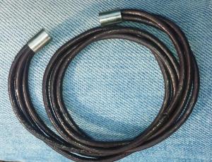 دستبند چرمی دو دور مگنتی-تصویر 2