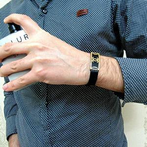 دستبند چرم طرح شنل-تصویر 2