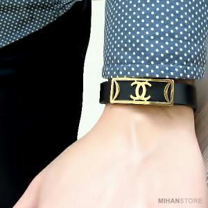 دستبند چرم طرح شنل-تصویر 3