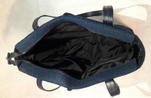 کیف دوشی نمدی برفی