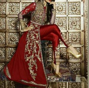 لباس مجلسی هندی-تصویر 3