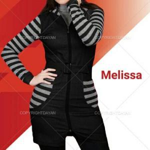 مانتو پاییزه Melissa-تصویر 2