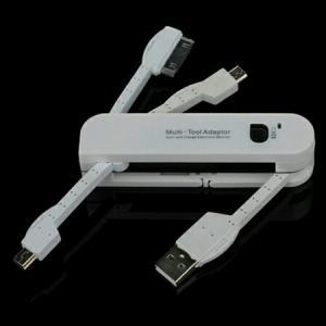 ست شارژر و دیتای 3 در یک USB