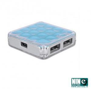 هاب 4 پورت USB ای فورتک مدل HUB-56-تصویر 3