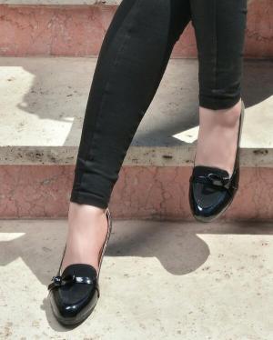 کفش زنانه ورنی مدل 8531