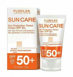 کرم ضد آفتاب رنگی برای پوست های خشک