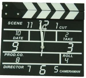 ساعت دیواری طرح ست فیلم-تصویر 3