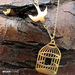 گردنبند مرغ آمین طرح Golden-تصویر 4