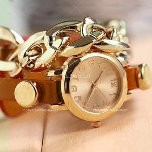 ساعت دخترانه آل استار(قهوه ای)-تصویر 4