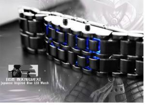 ساعت LED مدل Iron Samurai-تصویر 2