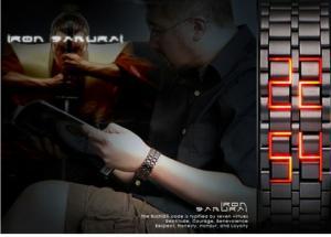 ساعت LED مدل Iron Samurai-تصویر 3