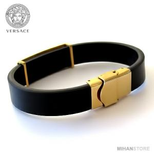 دستبند چرم طرح ورساچه-تصویر 5