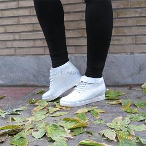 نیم بوت دخترانه آنجلینا(سفید)-تصویر 2