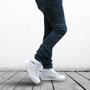 كفش ساق دار سفید NIKE AIR-تصویر 4
