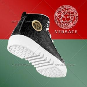 نیم بوت اسپرت دخترانه Versace-تصویر 2