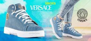 نیم بوت اسپرت دخترانه Versace-تصویر 4