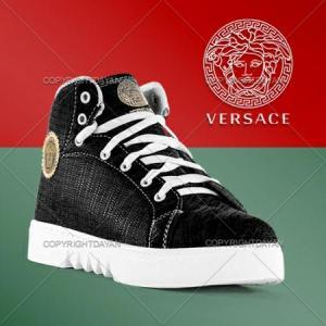 نیم بوت اسپرت دخترانه Versace-تصویر 5