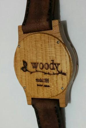 ساعت مچی چوبی-تصویر 3