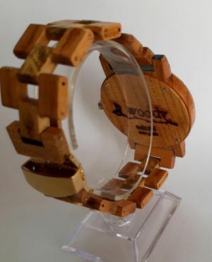 ساعت مچی تمام چوب-تصویر 3
