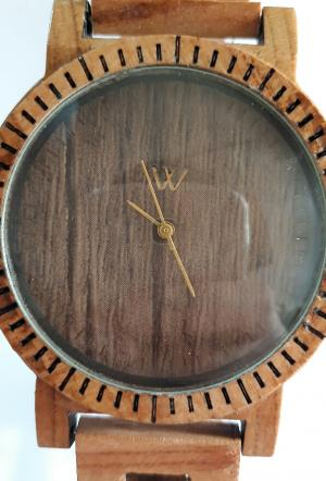 ساعت مچی تمام چوب-تصویر 4