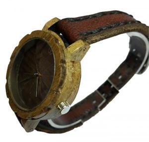 ساعت مچی چوبی زنانه-تصویر 2