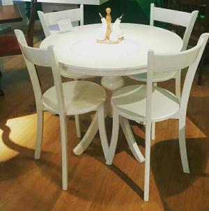 میز نهار خوری مدل تیارا