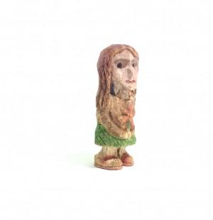 آدمک چوبی ، مجسمه چوبی ، دختر چوبی ، دخترک چوبی-تصویر 3