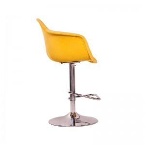 صندلی اپن پایه گردان مدل ایزی کد ET51 استیل هامون-تصویر 2