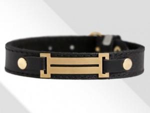 دستبند چرم رومی (طرح طلا)-تصویر 2