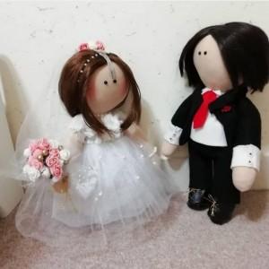 عروسک روسی عروس و داماد سایز بزرگ