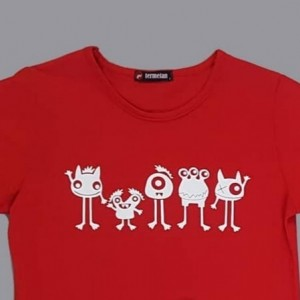 تی شرت هیولا