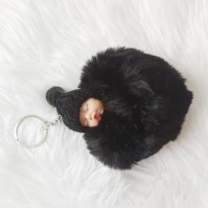 جاکلیدی زنانه مدل عروسکی بیبی Baby قلبی-تصویر 3