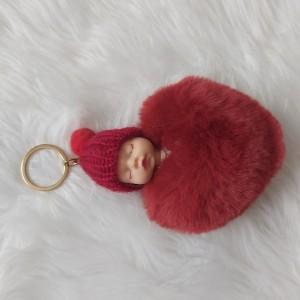 جاکلیدی زنانه مدل عروسکی بیبی Baby قلبی-تصویر 4