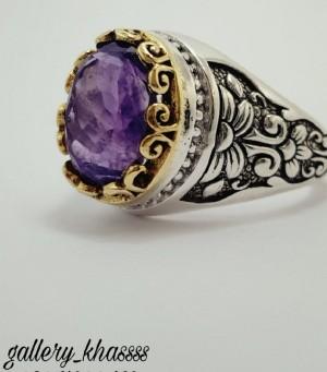 انگشتر زیبای نقره