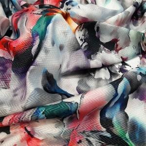 روسری نخ ابریشم گارزا ارکیده 122-57-تصویر 2
