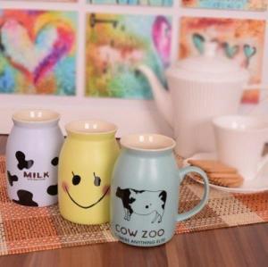 ماگ قهوه و نسکافه مدل milk