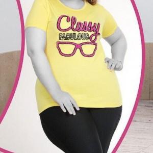 تی شرت قواره دار عینک