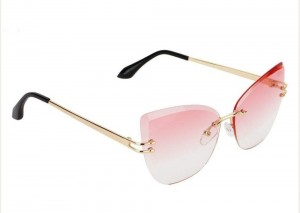 عینک آفتابی فریم لس زنانه