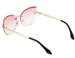 عینک آفتابی فریم لس زنانه-تصویر 2