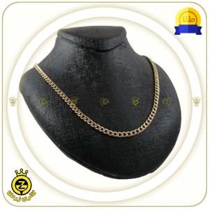 گردنبند طلا تمام کارتیه عرض 0.5-تصویر 4