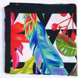 روسری گلدار رنگی-تصویر 4