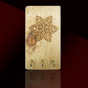 جاکلیدی دیوارکوب چوبی