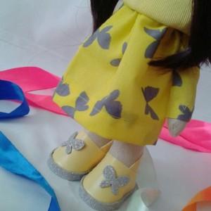 عروسک روسی مدل پروانه-تصویر 2